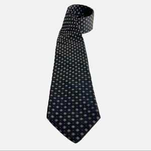 Ted Baker London Black Sun Medallion Silk Tie